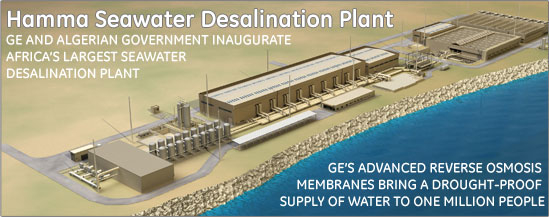 General Electric's Desalination Plant
