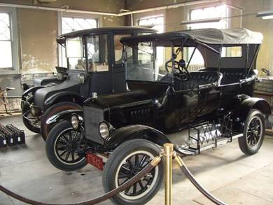 Ford Model T, a gift from Henry Ford
