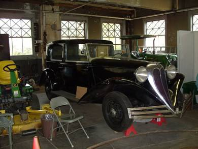 1936 Brewster, vehicle owned by Charles Edison