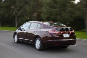 Honda FCX Clarity [fuel cell car]