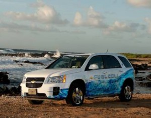 Chevy Equinox [fuel cell car]