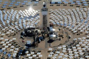 Photo of Solar Power Tower [source: Internet]