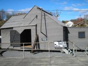 The Black Maria replica-world's first motion picture studio