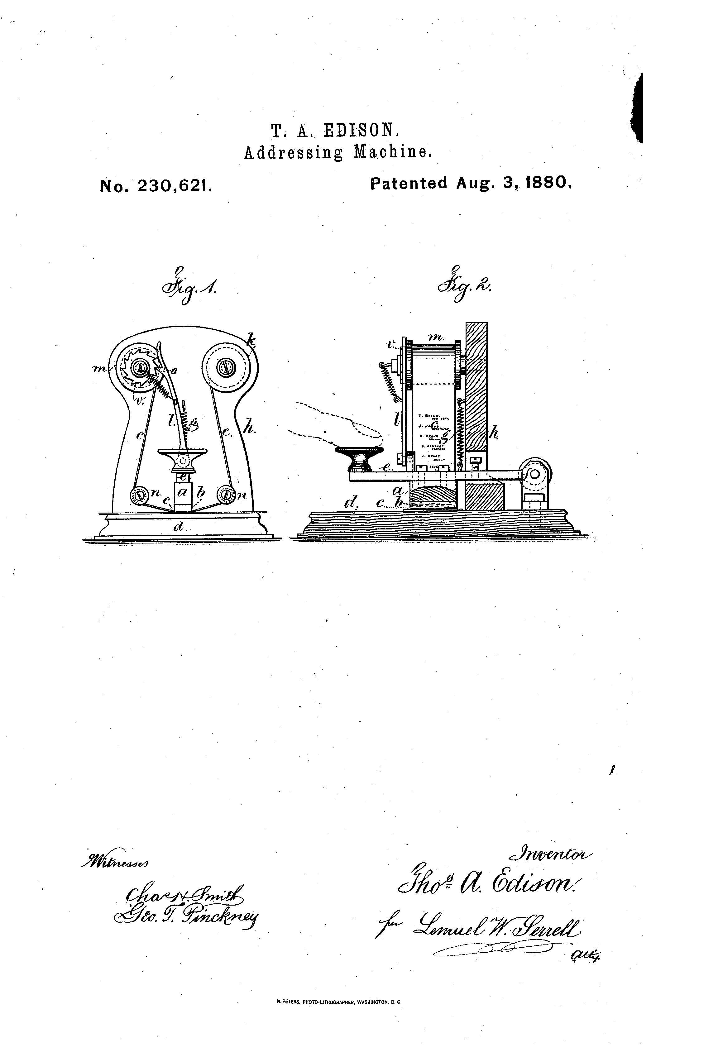 edison patents image gallery | thomas edison muckers