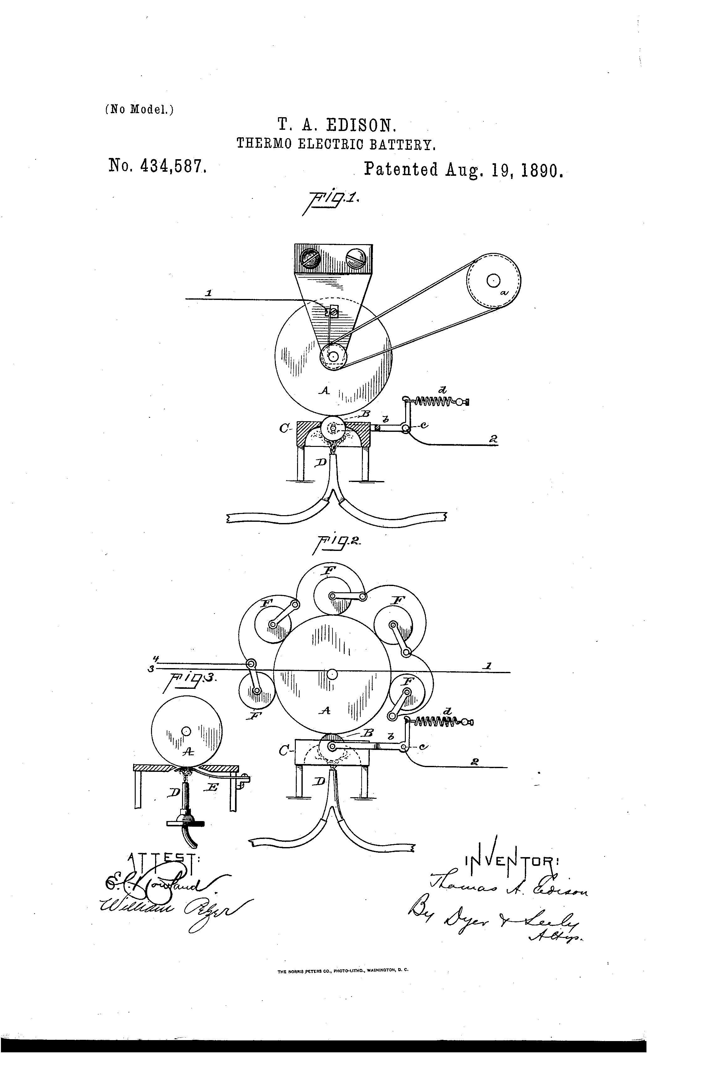 Edison Patents Image Gallery Thomas Muckers Electromagnetic Relay Inventor