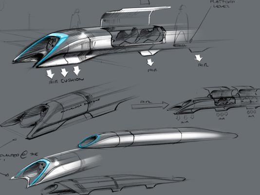 "The ""Hyperloop"" by Elon Musk - in the Spirit of Thomas Edison"
