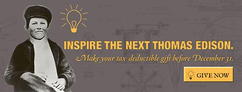 Inspire the Next Thomas Edison