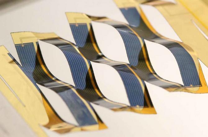 Twisting Solar Panels