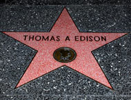 Edison on the Walk of Fame