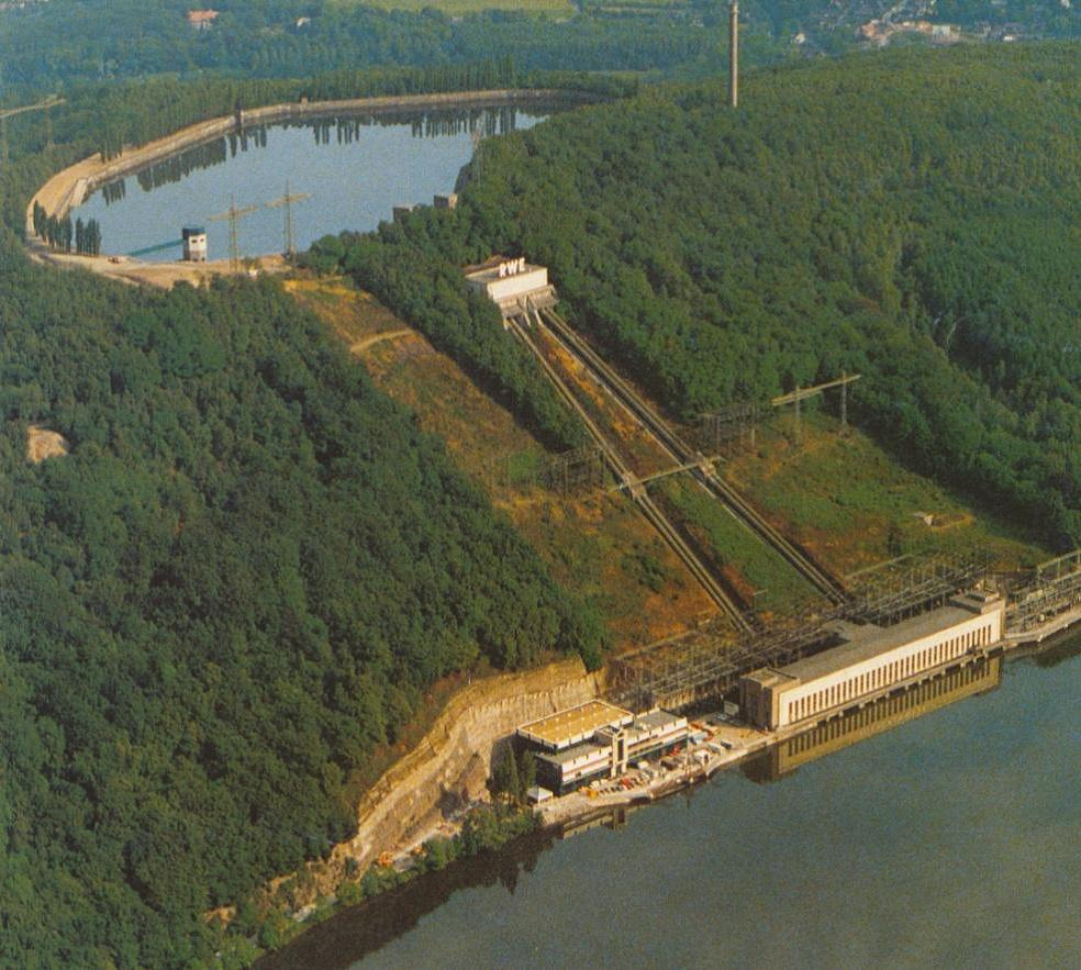 Typical hydroelectric pumped storage facility is a large scale, environmentally intense project
