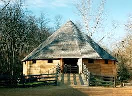 Typical George Washington Wheat Threshing Barn Design