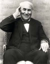 A smiling Edison