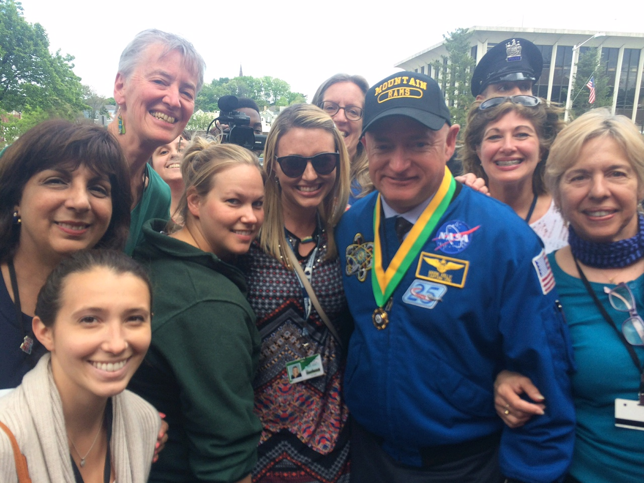West Orange school district science teachers welcome Scott Kelly home
