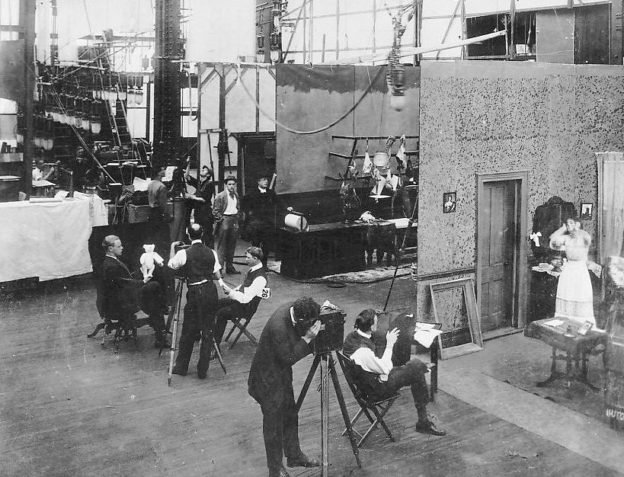 These Thomas Edison Movie Studios were The First In the World