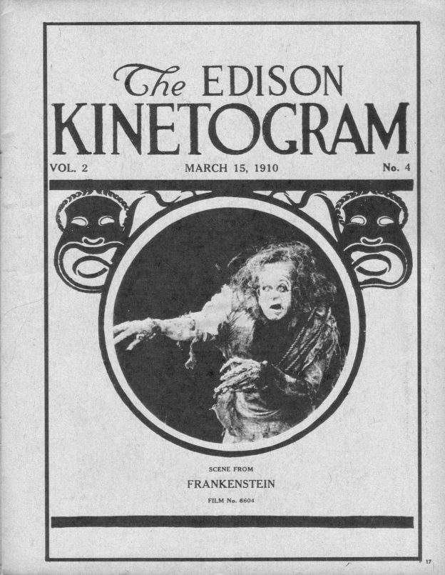 Thomas Edison Brought Frankenstein to Life First
