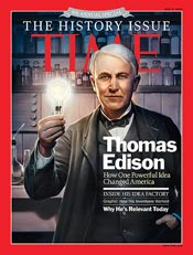 Thomas Edison on Time Magazine