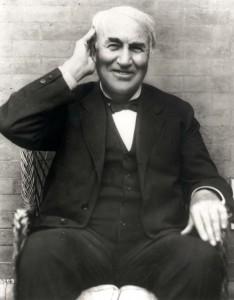 Smiling Edison