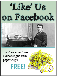 Like Thomas Edison on Facebook