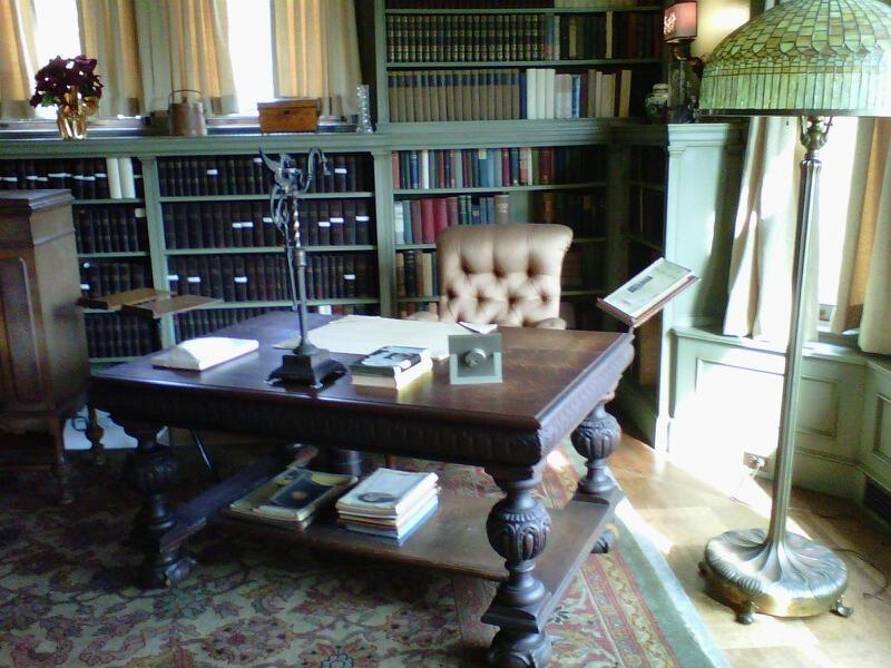 Edison's Desk in his house in Glenmont