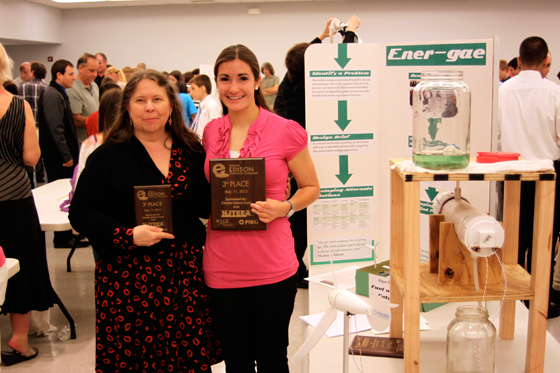 """3rd Place """"Ener-gae"""" Howell HS Invented a source of biofuels derived from algae farms"""