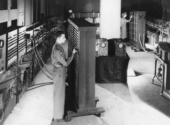 The First Computer-ENIAC [ca. 1940s]
