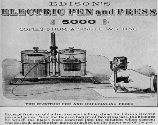 Thomas Edison Had a Tattoo!