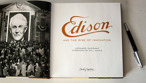 """Edison and the Rise of Innovation"" - A Look Inside and a Giveaway!"