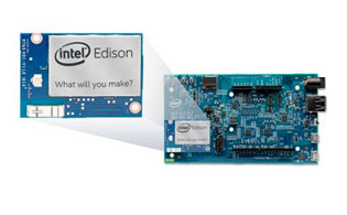 New chip shown expanded and positioned on a mother board