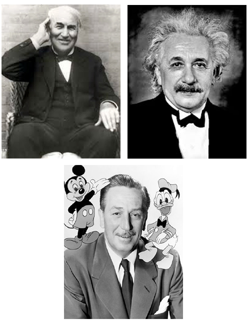 Edison-Einstein-Disney: Three of a Kind