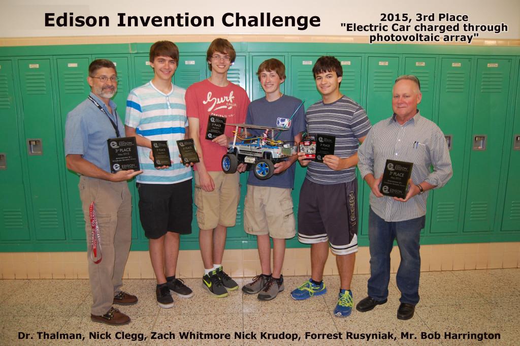 High School Third Place Winners