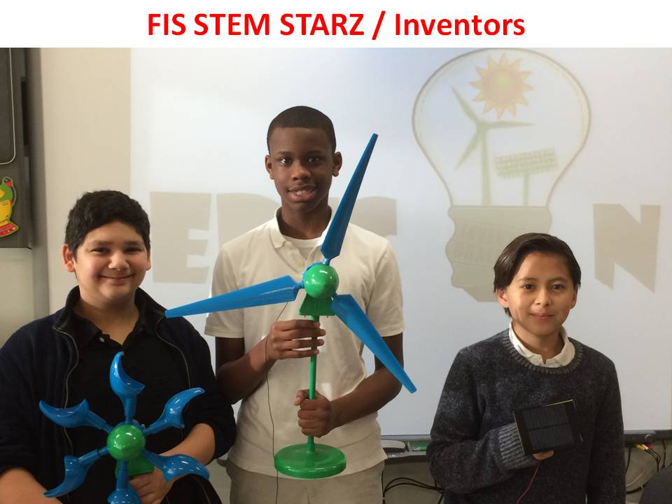 1st Place–Freehold Intermediate School: STEM STARZ