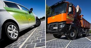 Wattway solar panels can stand up to the deadweight of cars and large trucks; and even withstand snow plowing.