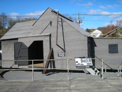 A 1954 reproduction of the original Black Maria –the world's first motion picture studio at TENHP.