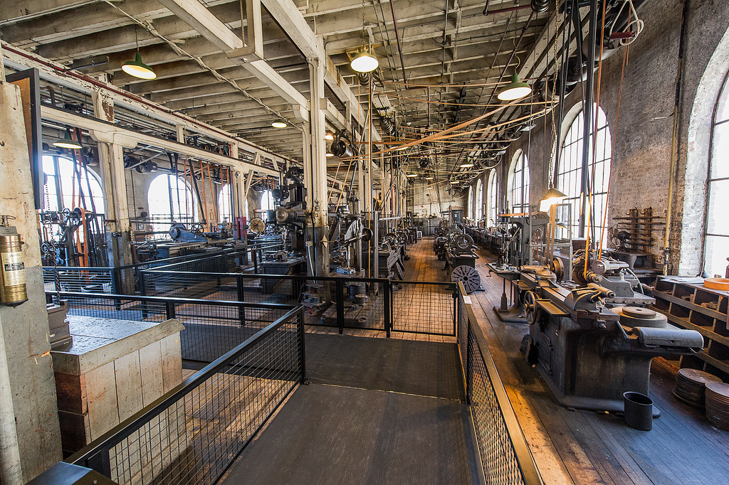 Edison's legendary machine shop