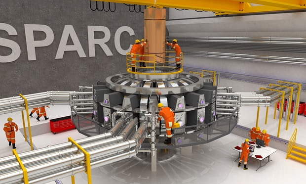 The MIT SPARC fusion reactor test assembly