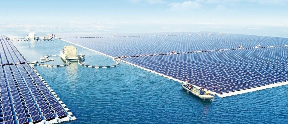China's largest floating solar station—40 MW in size